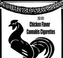 YAKIMA GOLD Cannabis Cigarettes...chicken flavored! Sticker