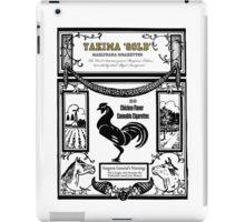 YAKIMA GOLD Cannabis Cigarettes...chicken flavored! iPad Case/Skin