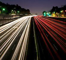Hollywood traffic  by Varujhan  Chapanian
