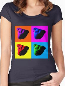 Pit Bulls Women's Fitted Scoop T-Shirt