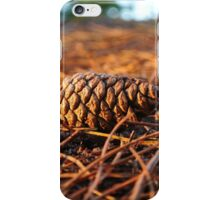 Autumn Pine Cone iPhone Case/Skin