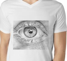 Seeing is Believing Mens V-Neck T-Shirt