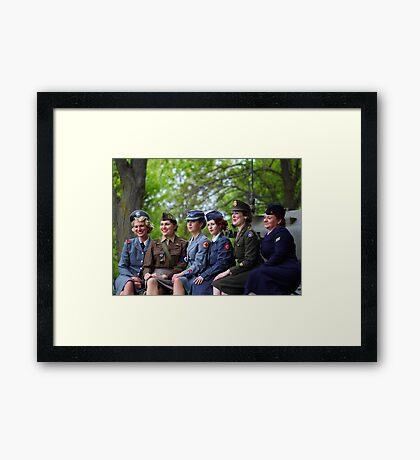 Women of World War 2 Framed Print