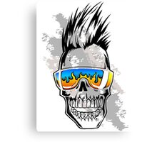 Summer Skull Canvas Print