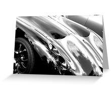 TVR bonnet Greeting Card
