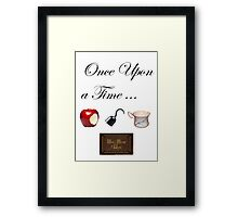 Once Upon a Time ...  Framed Print