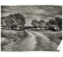 Country Road   2  ( BoneYard Series ) Poster