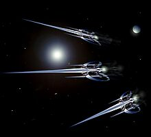 Light Bender Cruisers by cmlongworth