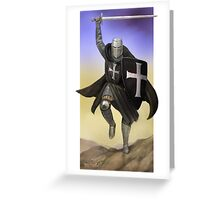 Hospitaller Charging Greeting Card