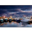 Fremantle Fishing Boat Harbour by Kirk  Hille