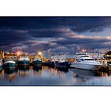 Fremantle Fishing Boat Harbour by Kirk  Hille