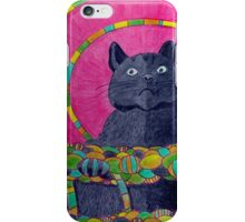 418 - QUEEN SUZIE - DAVE EDWARDS - COLOURED PENCILS 2015 iPhone Case/Skin