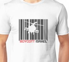 Boycott Israel_punch_out (heli version) Unisex T-Shirt