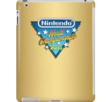 Nintendo World Championships 2015 Logo iPad Case/Skin