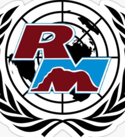 Red Mountain Model UN Logo Sticker
