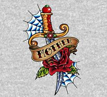 Oldschool Tattoo-Dagger Womens Fitted T-Shirt