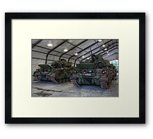 In the Tent Framed Print