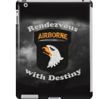 101st Airborne Division - Rendezvous with Destiny iPad Case/Skin