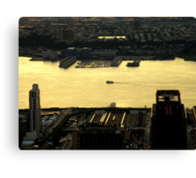 The Sun Sets On The Big Apple ~ Part One Canvas Print
