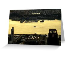 The Sun Sets On The Big Apple ~ Part One Greeting Card