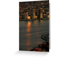 The Sun Sets On The Big Apple ~ Part Three Greeting Card