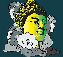 Buddha in the Clouds by FredzArt