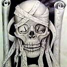 """""""skull no2 from the skull series"""" (title to be added upon completion) by JP100"""