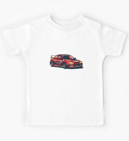 Diesel Subaru Impreza Rally Car Kids Tee