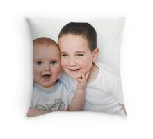 Natural Born Models Throw Pillow