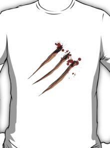 Claw Marks. Wolverine maybe? T-Shirt