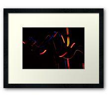 Lights II Framed Print