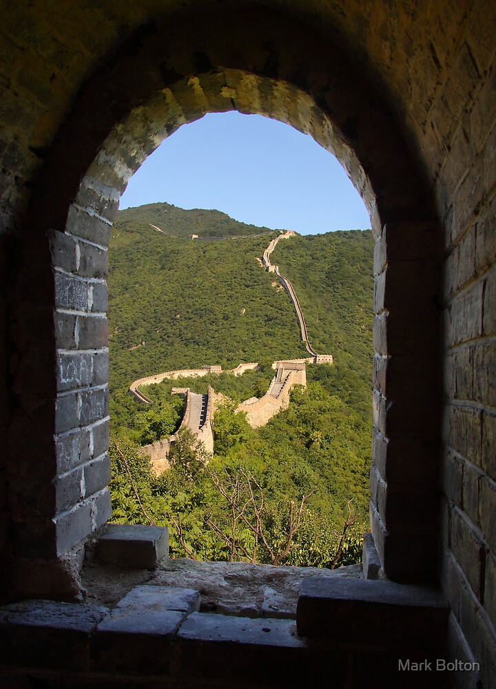 Mutianyu to Jiankou Great Wall - HDR by Mark Bolton