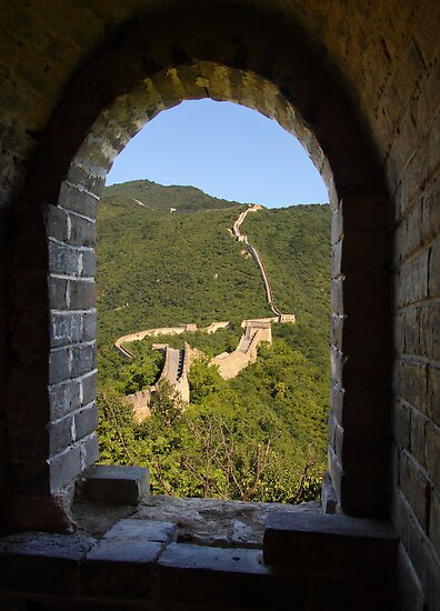 Mutianyu to Jiankou Great Wall - HDR by Mark Bolton