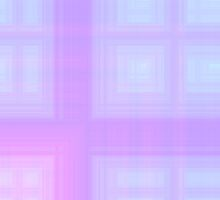 Spring-Summer Colour Plaid (Purple-Violet-Cyan) by FireFairy