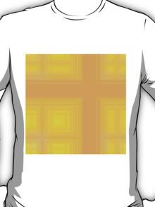 Spring-Summer Colour Plaid (Yellow-Orange) T-Shirt