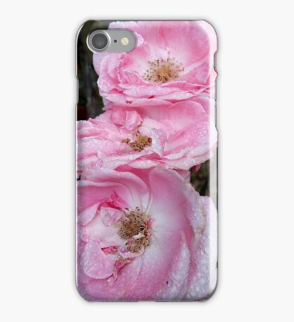 Rose Pink in Nature's Delight iPhone Case/Skin