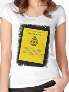 The Mod Police are looking for You! Women's Fitted Scoop T-Shirt