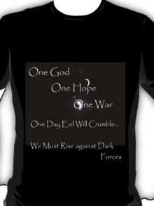 Rise Against Evil T-Shirt