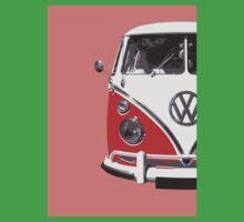 Red VW Camper Baby Tee