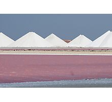 Salt Bonaire Photographic Print