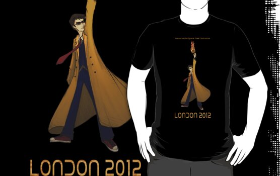 Preserve the Space-Time Continuum: The Doctor in London 2012 by Barbora  Urbankova