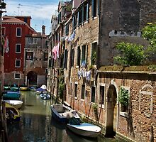Back street in Venice (2) by Violaman