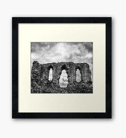 Freaky Castle Framed Print