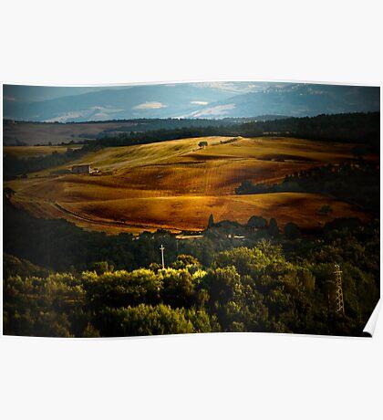 Tuscan Light Poster