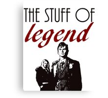 """The stuff of legend."" - 10th Doctor Canvas Print"