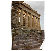 Acropolis Stairway Poster