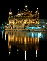 Golden Temple at Night -I by RajeevKashyap