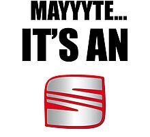 Mayyyte... it's a Seat by CreativeYaz