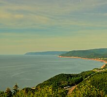 Cabot Trail toward Inverness by Cameron  Allen Lamond