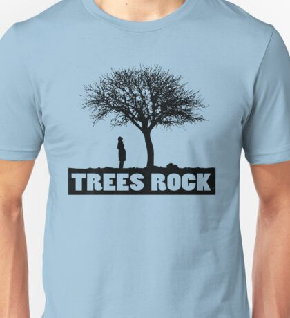 Trees rock Unisex T-Shirt